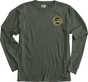 Powerhouse Mountains Long Sleeve T-Shirt - PNW Forest