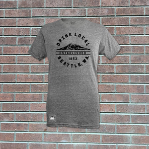 Drink Local Grey T-Shirt