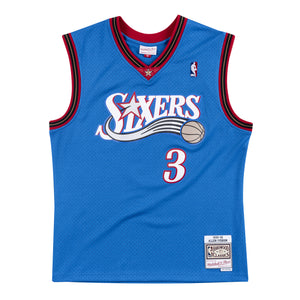 1999-00 Allen Iverson #3 Authentic NBA Swingman Jersey