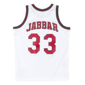 1971-72 Kareem Abdul-Jabbar #33 Authentic NBA Swingman Jersey