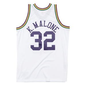 1991-92 YOUTH Karl Malone #32 Authentic Swingman NBA Jersey