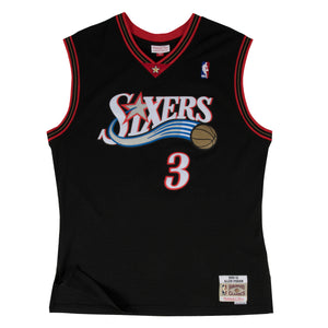 2000-01 YOUTH Allen Iverson #3 Authentic Swingman NBA Jersey