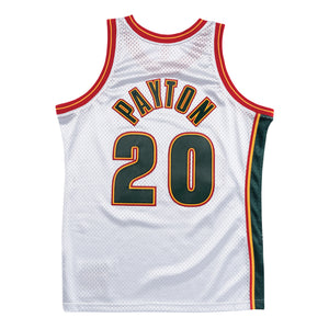 1995-96 Gary Payton Sonics #20 Authentic Swingman NBA Jersey