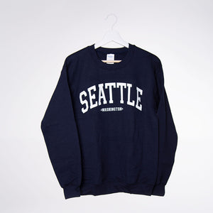 Dot Dot Print Sweatshirt - Navy