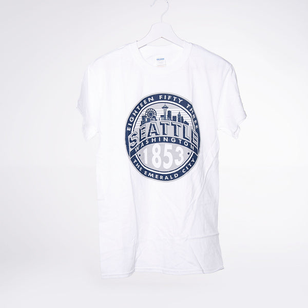 Emerging Circle T-shirt - White