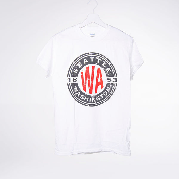 Color Stamp Lights T-shirt - White