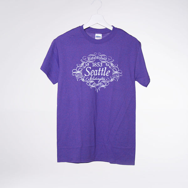 Scripted Seattle Darks T-shirt - Lilac