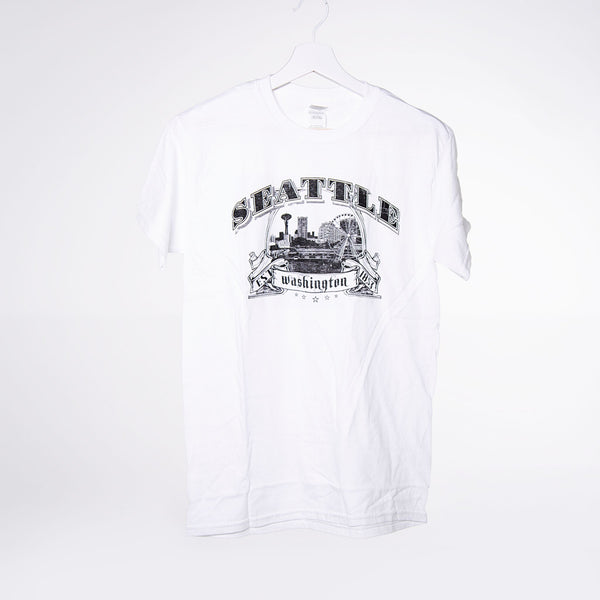 Star Banner Lights T-shirt - White