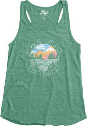 Ladies Bossanova Tank Top - Lagoon