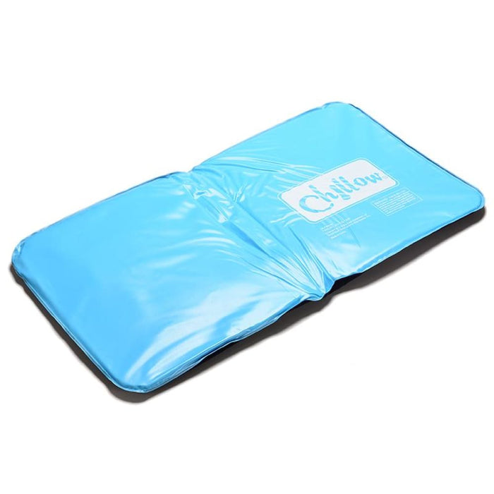 Cooling Pillows 1Pc Ice Cold Pillow Cool Gel Hypoalergentic Non-toxic Aid Pad Muscle Relief Sleeping Mat Travel Pillows Neck Water Blue