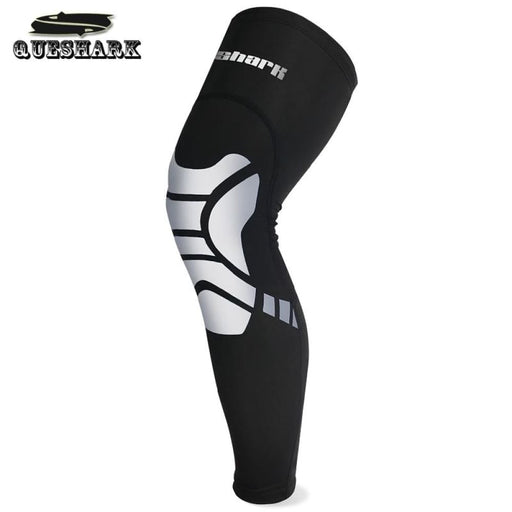 Compression Leg 1Pc Men Women Compression Cycling Legwarmers Sport Safety Running Legging Basketball Soccer Leg Warmers Knee Pad Calf Leg Sleeve