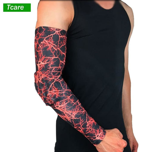 Compression Arm 1Pcs Compression Arm Sleeve Sports Elbow Pad Crashproof Arm Guard Shooter Sleeve for Football Basketball Tennis Weightlifting
