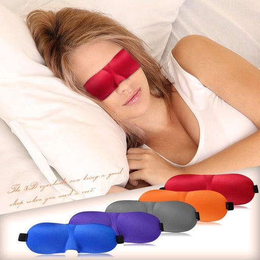 3D Eyeshade Sleeping Eye Mask Cover - Sleep Masks