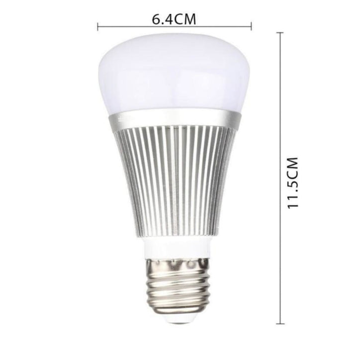 Bluetooth Light Bulbs B22/E27 Smart WiFi Light Dimmable LED Light Bulbs Controlled For Home KTV Bar Party Decoration