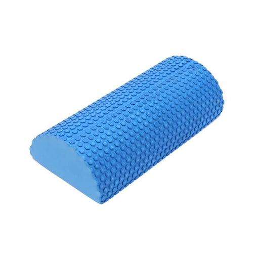 Yoga Rollers Blue EVA foam Half Round Yoga Roller Pilate Fitness Foam Gym Fitness Exercise Yoga Blocks Massage Floating Point 30x15x7 cm