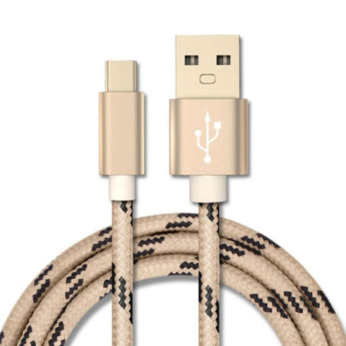 Phone Cords Braided USB3.1 Charging Cable Nylon Charger USB Cord For Android Samsung Phone