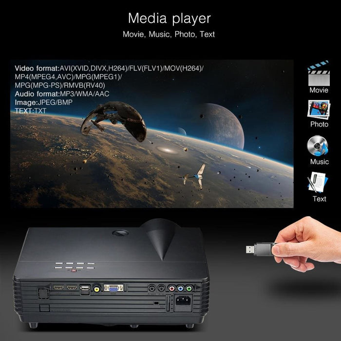 Byintek Bt96Plus Android Smart 1080P Projector - Projectors