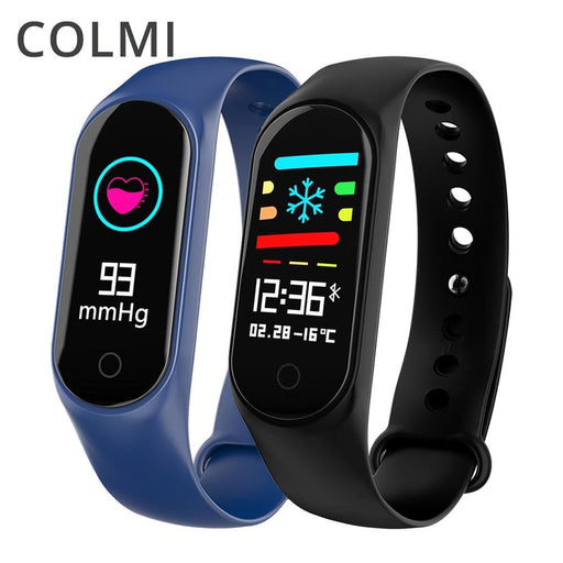 Colmi M3S Smart Bracelet Color-Screen Ip67 Fitness Tracker Blood Pressure Heart Rate Monitor Smart Band For Android Ios Phone - Sleep