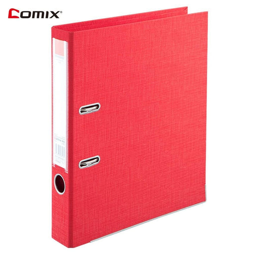 Binders Comix A4 Lever Arch File 2-Ring Binder Large Capacity Document Organizer File Folder Stationery Gift for Business Office School