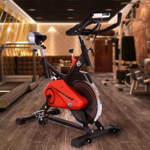 Stationary bikes Costway Exercise Bike Cycling Stationary Cardio Fitness Health Adjustable Home Gym