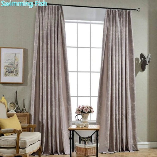 Bedroom Curtains Elegant Embroidery Curtain Floral Curtains Cortinas For Living Room Bedroom heavy fabric window curtain