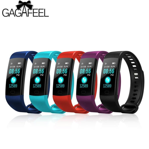 Gagafeel Y5 Sports Smart Bracelet For Men Color Screen Smart Wristband Heart Rate Monitor Fitness Tracker For Ios Android - Sleep Monitoring