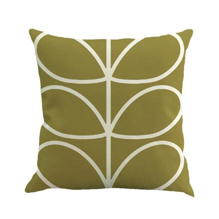 Home Decorative Throw Pillow Pillow Covers Geometric Pillowcase For The Pillow 45*45 - Army Green - Home Decor Pillows