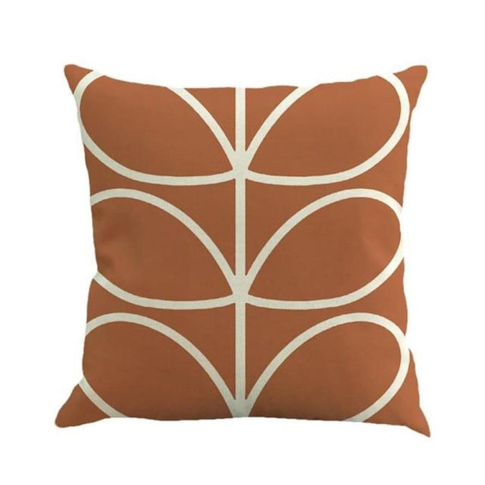 Home Decorative Throw Pillow Pillow Covers Geometric Pillowcase For The Pillow 45*45 - Brown - Home Decor Pillows