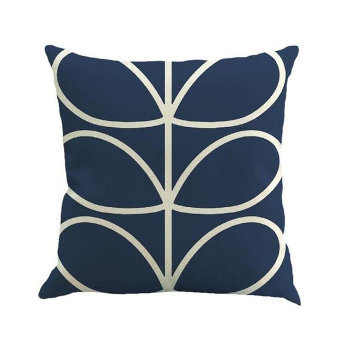 Home Decorative Throw Pillow Pillow Covers Geometric Pillowcase For The Pillow 45*45 - Dark Blue - Home Decor Pillows