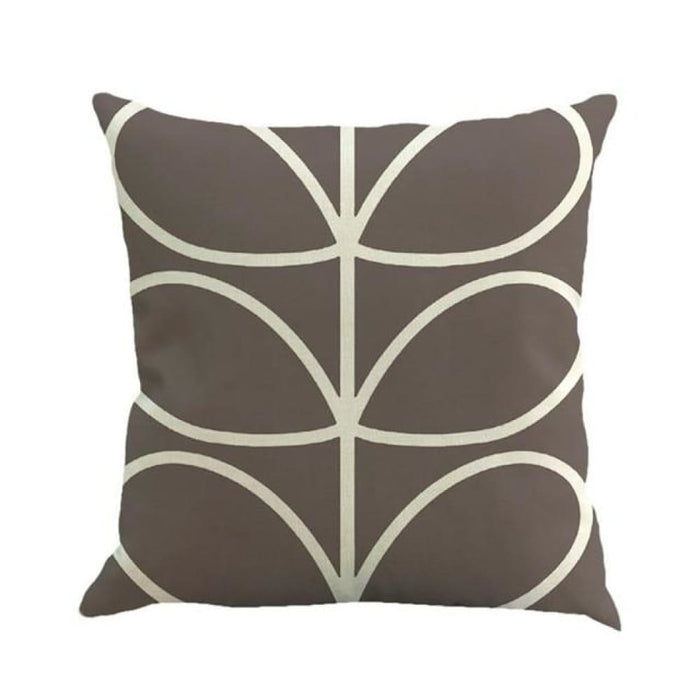 Home Decorative Throw Pillow Pillow Covers Geometric Pillowcase For The Pillow 45*45 - Gray - Home Decor Pillows