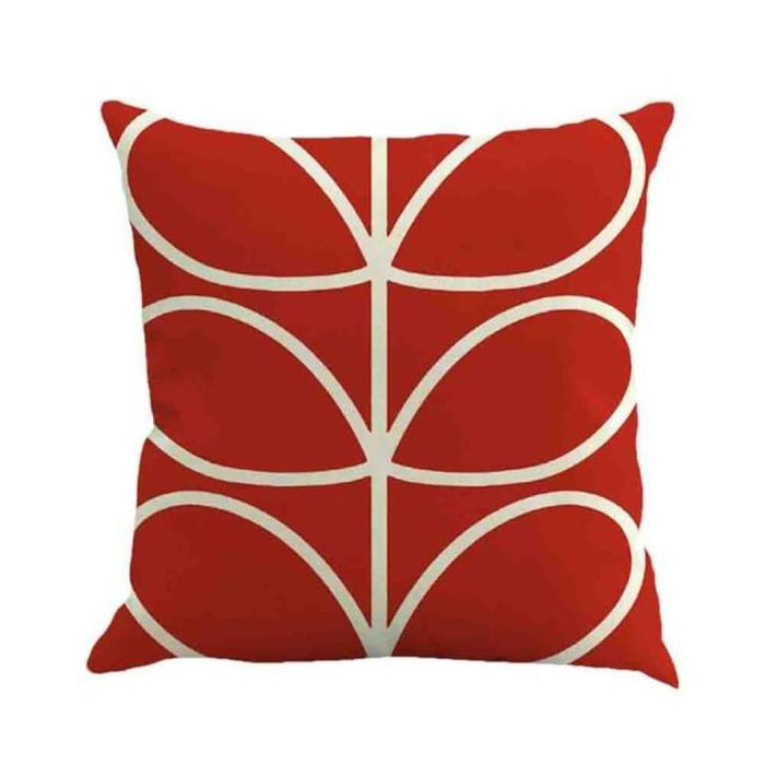 Home Decorative Throw Pillow Pillow Covers Geometric Pillowcase For The Pillow 45*45 - Red - Home Decor Pillows