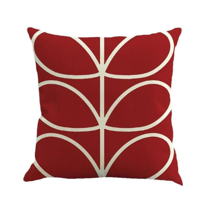 Home Decorative Throw Pillow Pillow Covers Geometric Pillowcase For The Pillow 45*45 - Watermelon Red - Home Decor Pillows