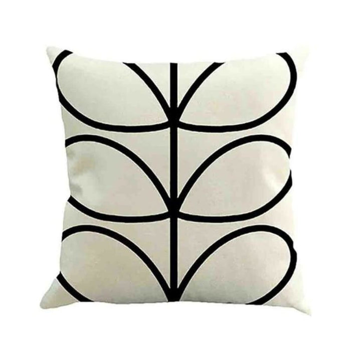 Home Decorative Throw Pillow Pillow Covers Geometric Pillowcase For The Pillow 45*45 - White - Home Decor Pillows