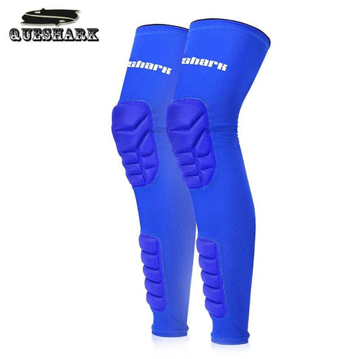 Compression knee Honeycomb Basketball Knee Pad Sports Safety Volleyball Knee Brace Compression Socks Leg Sleeve Long Gym Kneepads Legwarmers