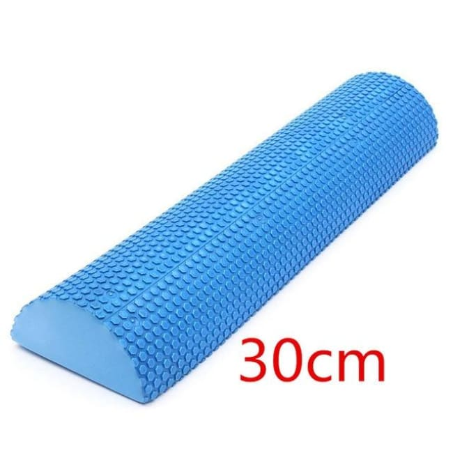 Yoga Rollers Hot Sale Blue Yoga Blocks EVA Foam Yoga Roller Pilates Fitness Half Round Foam Roller With Massage Floating Point 30cm 45cm 60cm