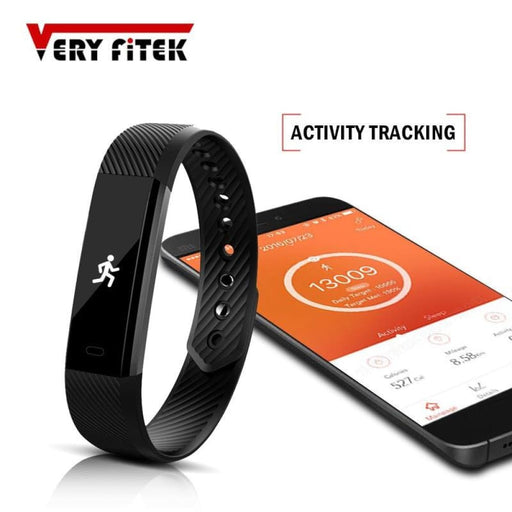 Id115 Smart Wristbands Fitness Tracker Smart Bracelet Pedometer Bluetooth Smartband Waterproof Sleep Monitor Wrist Watch - Sleep Monitoring