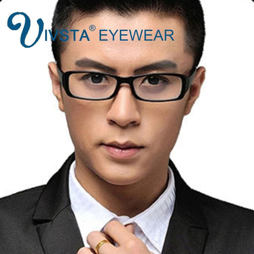 Ivsta Gaming Glasses Anti Blue Rays For Computer Game Brand Designer Optical Frame Prescription Blue Light Myopia 21007 - Blue Light