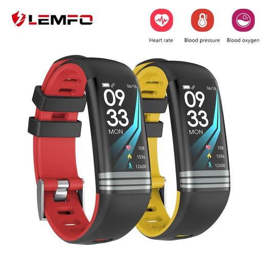 Lemfo Fitness Bracelet Smart Bracelet Pedometer Heart Rate Monitoring Blood Pressure Monitoring Waterproof Ip67 Fitness Tracker - Sleep