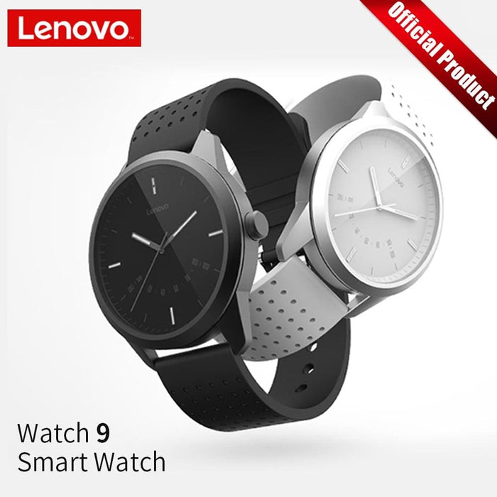 Lenovo Smart Watch Fashion Watch 9 Sapphire Glass Smartwatch 50 Meters Waterproof Heart Rate Monitor Calls Information Reminding - Sleep