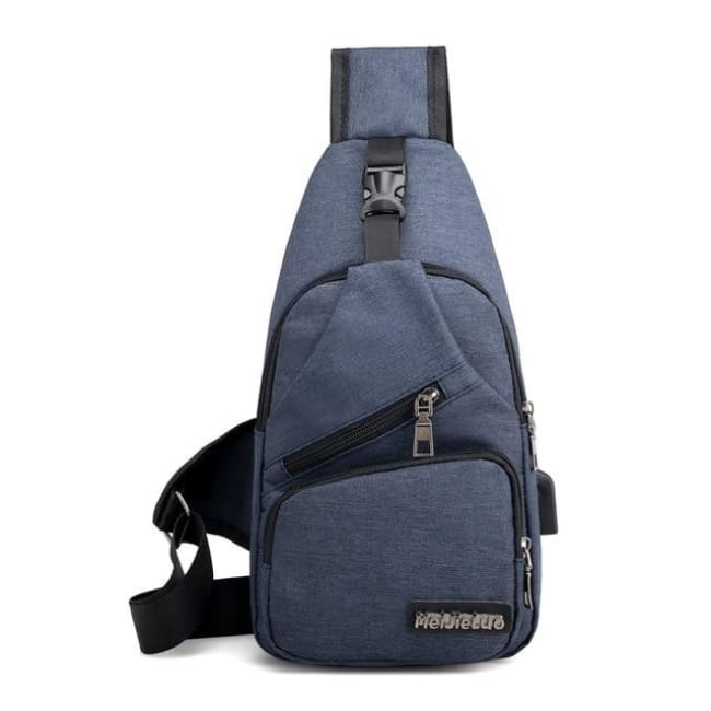 Computer Bags Male Shoulder Bags USB Charging Crossbody Bags Men Anti Theft Chest Bag School Summer Short Trip Messengers Bag 2018 New Arrival