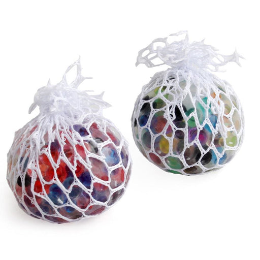Stress Relief Toys Mesh Ball Stress LED Glowing Squeeze Grape Toys Anxiety Relief Stress Ball