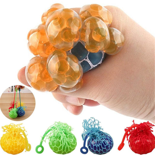 Stress Relief Toys Mesh Ball Stress Squeeze Grape Toy Anxiety Relief Stress Ball Rubber ball