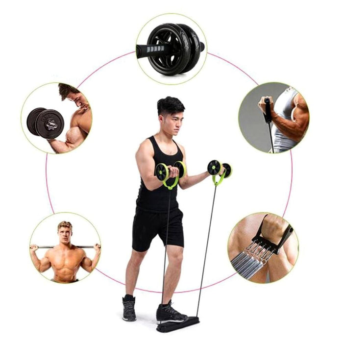 Strength Multifunction Abdominal Trainer Build Perfect Curve Body Portable Sport Pull Rope Health Muscle Home Training Equipment Hot Sale