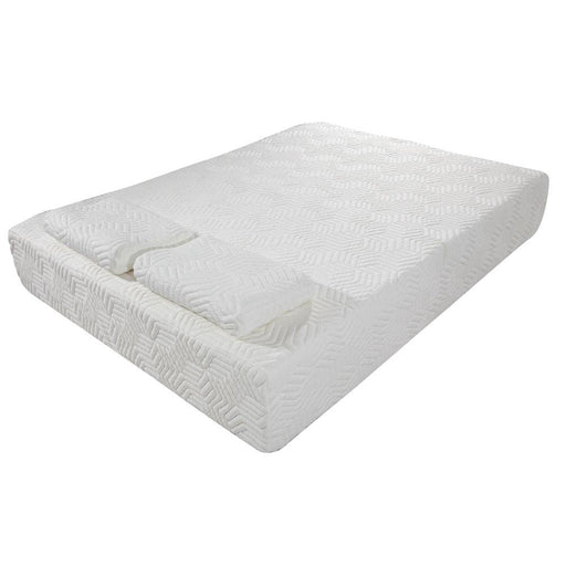 "Foam Bed Pads New 10""Full Size Cool Medium-Firm Memory Foam Mattress Bed w/2 Free GEL Pillows"