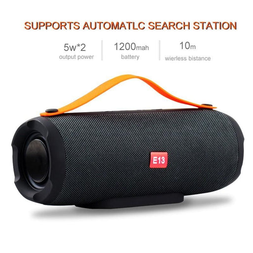 Wireless Speakers Portable Wireless Bluetooth Speaker Stereo big power 10W system TF FM Radio Music Subwoofer Column Speakers for Computer Phone Tablet Laptop