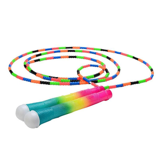 Skipping Ropes Soft Beaded Segment Jump Rope Tangle-free for Keeping Fit Training Workout(Colorful Jump Rope)