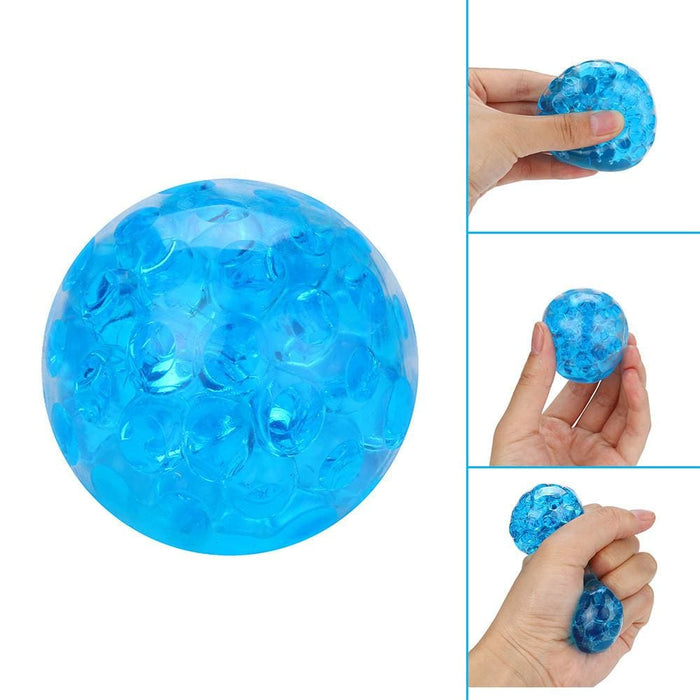 Stress Relief Toys Spongy Bead Stress Puffer Ball Squeezable Stress Toy Stress Relief Ball