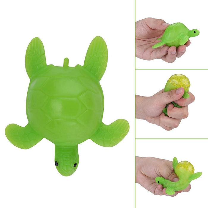 Stress Relief Toys Tortoise Lay Egg Mesh Ball Stress Squeeze Grape Toys Anxiety Relief Stress Ball