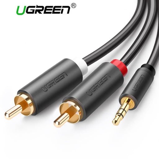 Ugreen Rca 3.5Mm Jack Cable 2 Rca Male To 3.5 Mm Male Audio Cable 1M 2M 3M Aux Cable For Edifer Home Theater Dvd Headphone Pc - Other Cables