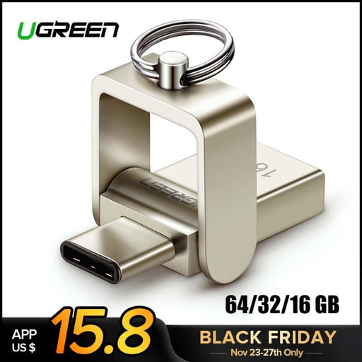 Ugreen Usb Flash Drive 3.0 Usb C Otg Pendrive 64 32Gb For Samsung Galaxy S9 Plus Note 9 For Xiaomi Redmi5 Memory Stick Pen Drive - Usb Stick